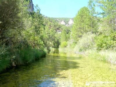 Hoz del Río Escabas - Serranía de Cuenca (Senderismo refrescante);madrid rutas el paular rutas via